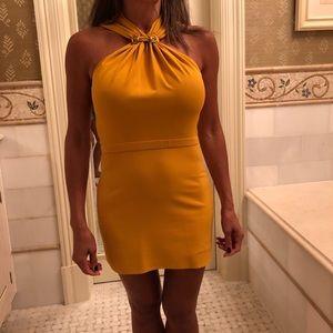 Gucci mustard dress